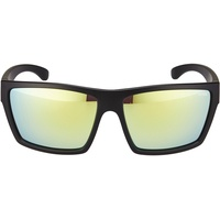 Uvex lgl 29 black mat / yellow mirrored