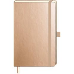 VBS Notizbuch Notizbuch, 192 Seiten gepunktet goldfarben