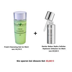 AloeVernis® BASIC aloe vera FRESH CLEANSING gel + DOCTOR BABOR HYDRO CELLULAR...