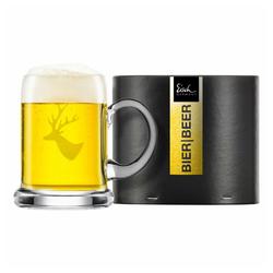 Eisch Bierkrug Seidel Chalet 300 ml, Kristallglas beige