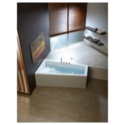 HAK Badewanne Andra, 180x90cm weiß nur Badewanne - 90 cm x 180 cm x 45 cm