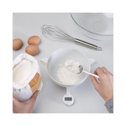 JosephJoseph Küchenwaage faltbare digitale Waage TriScale, weiß