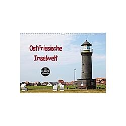Ostfriesische Inselwelt (Wandkalender 2021 DIN A3 quer)