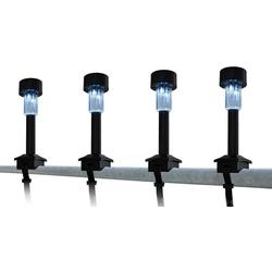 näve LED Gartenleuchte, 4er-Set