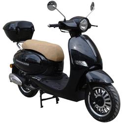 GT UNION Motorroller Medina, 125 ccm, 85 km/h, Euro 4, (Set), inkl. Topcase