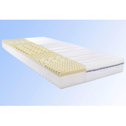 Komfortschaummatratze My Sleep Visko, BeCo EXCLUSIV, 18 cm hoch, Raumgewicht: 28, Komfort mit Viskoschaum-Topper inside 80 cm x 200 cm x 18 cm