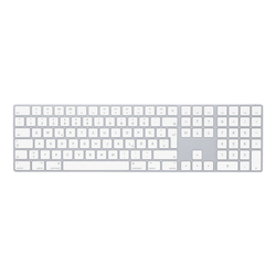 Apple Magic Keyboard mit Nummernblock - Silber