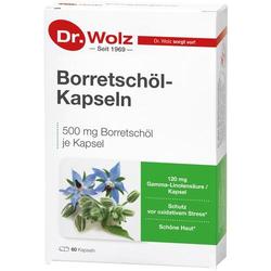 BORRETSCHÖL KAPSELN Dr.Wolz 60 St.