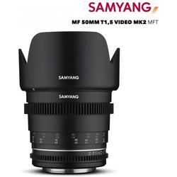 Samyang MF 50mm T1,5 VDSLR MK2 MFT