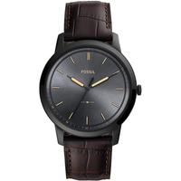 Fossil The Minimalist Leder 44 mm FS5573