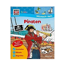 Piraten  Mitmach-Heft. Elisabeth Kiefmann  Tatjana Marti  - Buch