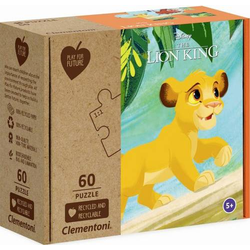 Clementoni Puzzle Play for Future - Lion King 60 Teile 27002