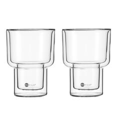 JENAER GLAS Becher MATCH Doppelwandig XL 2er SET HOT´N COOL