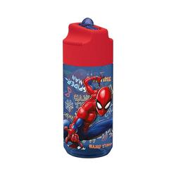 p:os Trinkflasche Tritan-Trinkflasche Spiderman, 430 ml