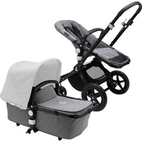Bugaboo Cameleon 3 Plus Basis black/Grey Melange