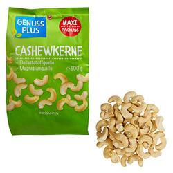 GENUSS PLUS CASHEWKERNE Kerne 500,0 g