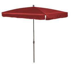 Madison LEROS Sonnenschirm Gartenschirm 210x140cm rot
