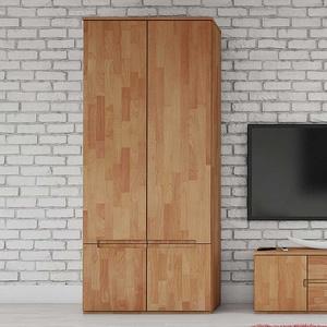 Schlafzimmerschrank aus Buche Massivholz 90 cm breit