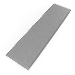 Vicco Bankauflage 150x40x5cm Bankpolster Gartenbank-Auflage Sitzpolster Auflage grau 150 cm