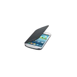 Handyhülle mit Folie Samsung Galaxy Express I8730 Grau