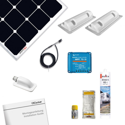 Solara DCSolar Power Set 3-FR Solarmodul 110 Watt