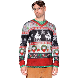 Boland Kostüm Silly Christmas Shirt L