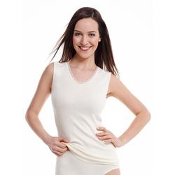 Medima Damen Unterhemd 40% Angora weiß Gr. XXL