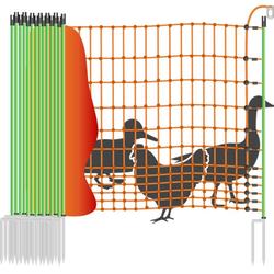 Geflügelzaun »Euronetz« Laufenten Zaun · 25m 2 Spitzen, 112cm