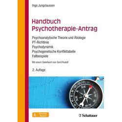 Handbuch Psychotherapie-Antrag: Buch von Ingo Jungclaussen