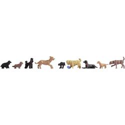 NOCH 15719 H0 Figuren Hunde