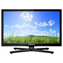 TFT-LED-Flachfernseh-DVD-Kombination Megasat Royal Line II 22, 12 / 230 Volt