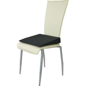 Orthopädisches Keilkissen Sitzkeilkissen Sitzkissen Sitzhilfe Kissen, schwarz