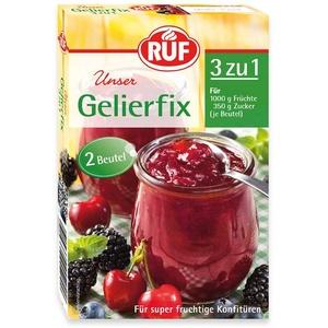 RUF Gelierfix 3 zu 1 • Einkochen von Marmelade, Konfitüre oder Gelee, 17er Pack (17 x 2 x 25g )