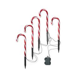 5 LED-Zuckerstangen - Tchibo - Schwarz