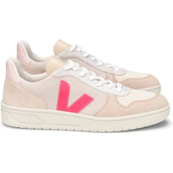 Veja - V10 Suede Multico Natural Rose Fluo - Sneakers - Größe: 40