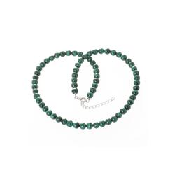 Bella Carina Perlenkette Malachit 6 mm, mit Malachit