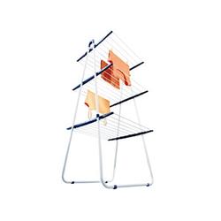 Leifheit Pegasus Tower Trockengestell weiß/blau