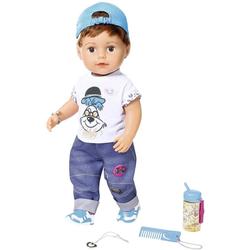 Baby Born Babypuppe Soft Touch Brother, 43 cm, interaktiv