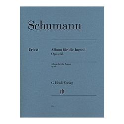 Album für die Jugend op. 68  Klavier. Robert - Album für die Jugend op. 68 Schumann  - Buch