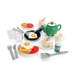 dantoy Spielgeschirr Green Garden Frühstück Set, (29-tlg), Kindergeschirr für Kinderküche, geeignet ab 2 Jahren