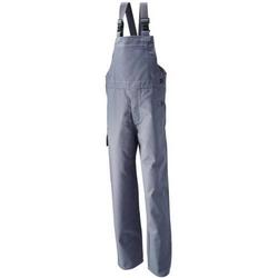 Planam Schweißerlatzhose,Gr.52, 360 g/qm,grau
