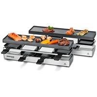 Rommelsbacher RC 1600 Raclette Grill 8 Person(en) Schwarz, silber