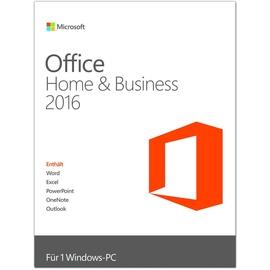 Microsoft Office Home & Business 2016 PKC DE Win