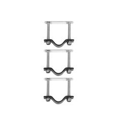 Basil Fahrradkorb Crate Mounting Befestigungssatz 70166 Halter für Körbe und Kisten schwarz