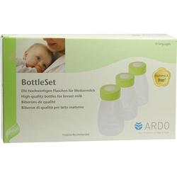 ARDO BottleSet Muttermilchflaschen 3 St