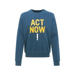ECOALF Sweatshirt ALTAMIRA ACT NOW (1-tlg) L (L)