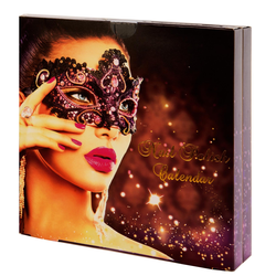 Nagellack Adventskalender für Frauen DELUXE mit 24 festlichen Farben - Nail Polish Set