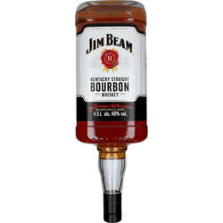 4,5 Liter Jim Beam Kentucky Whisky 40 %Alc.