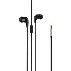 Vivanco Talk 4 In Ear Kopfhörer In Ear Headset Schwarz