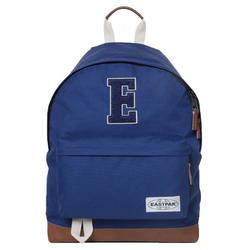 Eastpak Rucksack EASTPAK WYOMING Into E Rucksack moderner 24 Liter Rucksack mit Varsity-K-Label Schul-Tasche Blau